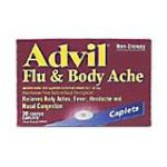 Advil - Flu & Body Ache 20 caplets 0305730189101  / UPC 305730189101