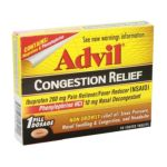 Advil - Congestion Relief Coated Tablets 0305730195201  / UPC 305730195201