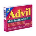 Advil - Multi-symptom Cold 10 caplets 0305730198103  / UPC 305730198103