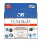 Aquarium pharmaceuticals - Triple Sulfa Powder Packets 10 ct 0317163160503  / UPC 317163160503