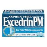Excedrin -  Acetaminophen And Diphenhydramine Citrate 24 coated tablet 0319810001825