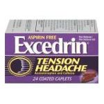 Excedrin -  Pain Reliever 24 caplets 0319810008916