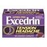 Excedrin -  Pain Reliever Pain Reliever Aid 50 coated caplets 0319810008923