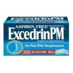 Excedrin -  Acetaminophen And Diphenhydramine Citrate 0319810070685