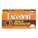 Excedrin -  Sinus Headache 50 coated caplets 0319810302694