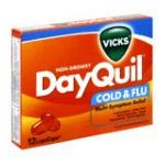 Vicks - Cold & Flu 12 liquicaps 0323900007192  / UPC 323900007192