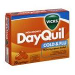 Vicks - Cold & Flu 20 liquicaps 0323900007208  / UPC 323900007208