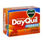 Vicks - Cold & Flu 40 liquicaps 0323900007215  / UPC 323900007215