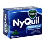 Vicks - Cold & Flu 40 liquicaps 0323900007253  / UPC 323900007253