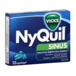 Vicks - Sinus Liquicaps 0323900007338  / UPC 323900007338