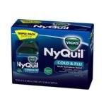 Vicks - Nyquil Cold & Flu Liquid Original Flavor 0323900007512  / UPC 323900007512
