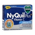 Vicks - Cold & Flu 12 caplets 0323900009721  / UPC 323900009721