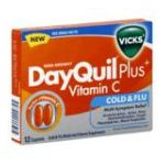 Vicks - Cold & Flu 12 caplets 0323900009745  / UPC 323900009745