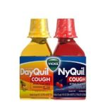 Vicks - Dayquil Nyquil Cough Relief Liquid Combination Package One Pack 0323900011236  / UPC 323900011236