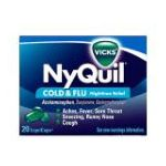 Vicks - Cold & Flu 20 liquicaps 0323900011267  / UPC 323900011267