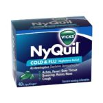 Vicks - Cold & Flu 40 liquicaps 0323900011274  / UPC 323900011274