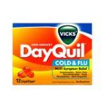 Vicks - Cold & Flu 12 liquicaps 0323900011311  / UPC 323900011311