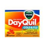 Vicks - Cold & Flu 20 liquicaps 0323900011328  / UPC 323900011328