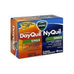Vicks - Dayquil Nyquil Sinus Liquicaps 40 liquicaps 0323900011380  / UPC 323900011380