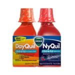 Vicks - Nyquil Cherry Cold And Flu And Dayquil Cold And Flu Combo Pack 0323900013728  / UPC 323900013728