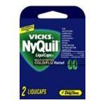 Vicks - Nyquil Liquicap Pse 2 liquicaps 0366715570116  / UPC 366715570116