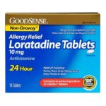 Good Sense -  Allergy Relief Loratadine Tablets 10 mg,30 count 0370030146673