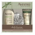 Aveeno - Daily Luxuries A Holiday Gift Set 1 Set 0381371153404  / UPC 381371153404