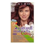 Clairol - Natural Instincts 23r Raspberry Creme Rich Medium Auburn Rich Color Creme 1 application 0381519045325  / UPC 381519045325