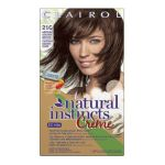 Clairol - Natural Instincts Rich Color Creme Hair Color Caramel Creme Rich Medium Golden Brown 0381519046377  / UPC 381519046377