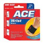 Ace - Ace Wrist Brace Neoprene 1x1 Each Becton Dickinson Elastic Hlth 1 each 0382902072201  / UPC 382902072201