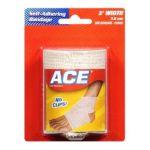 Ace -  4 Width Self-adhering Bandage No. 207634 0382902076346