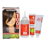Garnier -  100% Color Vitamin Enriched Gel-creme Color # 300 Soft Black 1 application 0603084000494