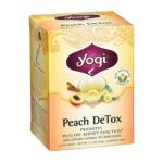Yogi Tea -  Herbal Tea Peach Detox 16 Tea Bags 0604331001653