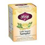 Yogi Tea -  Herbal Tea Cold Season Tea Sampler 16 Tea Bags 0604331001660