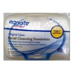 Equate -  Facial Cleansing Towelettes 60 Wet Towelettes Compare To Pond's Clean Sweep 0605388563118