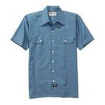 Williamson Dickie -  Dickies | Dickies Men's Short Sleeve Chambray Shirt 0607645070766