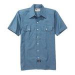 Williamson Dickie -  Dickies | Dickies Men's Short Sleeve Chambray Shirt 0607645070803