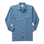 Williamson Dickie -  Dickies | Dickies Men's Long Sleeve Chambray Shirt 0607645070889