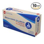 Dynarex -  Safetouch Nitrile Exam Gloves Non Latex Powder Free Case Small 0616784251134