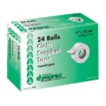 Dynarex -  Cloth Surgical Tape Hypoallergenic 1 X 10 Yards 144 Case 0616784356228