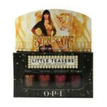 OPI - Burlesque Little Teasers Mini Nail Lacquers Only In Theaters 0619828078056  / UPC 619828078056