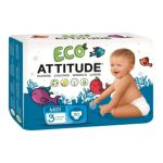 Attitude -  Attitude Eco-friendly Baby Diapers Size 3 24 lb, 30 diapers 0626232163018