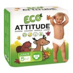Attitude -  Eco-friendly Baby Diapers Junior Size 5 22 diapers 0626232165012