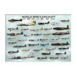 Eurographics -  World War Ii Aircrafts Jigsaw Puzzle 0628136600750