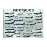 Eurographics -  Modern Warplanes Jigsaw Puzzle 0628136600767