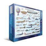 Eurographics -  History Of Aviation Jigsaw Puzzle 0628136600866