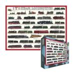 Eurographics -  Inc Steam Locomotives Ages 12 And Up 0628136600903