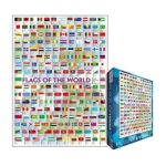 Eurographics -  Flags Of The World 2008 Jigsaw Puzzle 0628136601283