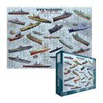 Eurographics -  World War Ii War Ships Jigsaw Puzzle 0628136601337