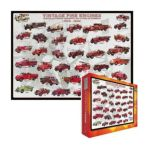 Eurographics -  Inc Vintage Fire Engines Ages 12 And Up 0628136602396